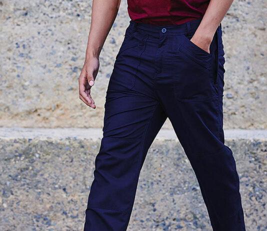 Modne spodnie męskie